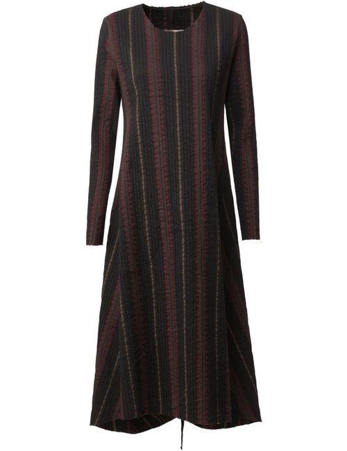 UMA WANG | Женское Чёрный Striped A-Line Dress