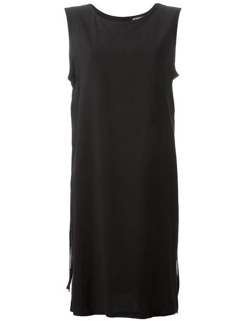Ann Demeulemeester | Женское Чёрное Платье Шифт С Завязками