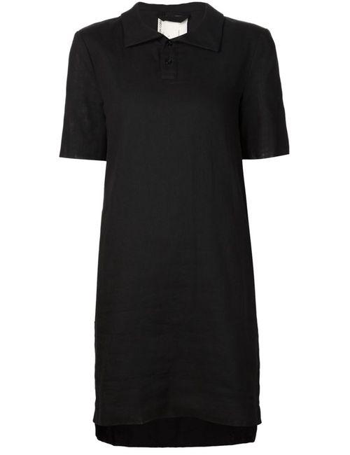 PHOEBE ENGLISH | Женское Черный Платье-Поло
