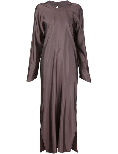 ECKHAUS LATTA | Женское Розовое Платье-Туника С Разрезами По Бокам