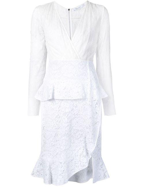 Altuzarra | Женское Белое Кружевное Платье Farley