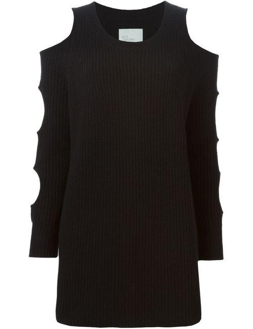 ZOE JORDAN   Женское Чёрное Вязаное Платье Galileo