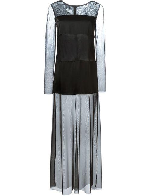 Dondup   Женское Чёрное Драпированное Платье