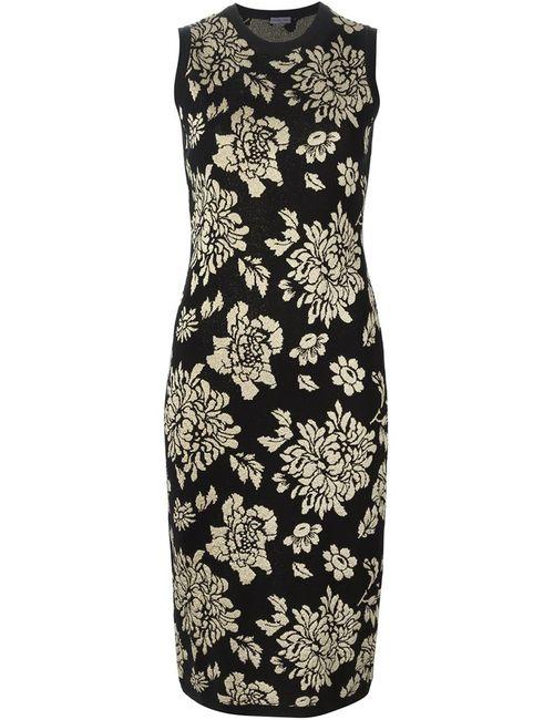 Emanuel Ungaro | Женское Чёрный Jacquard Fitted Dress