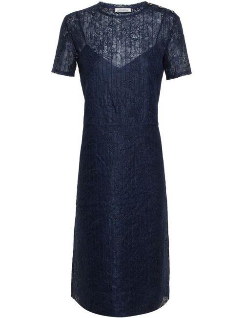 Nina Ricci | Женское Синий Lace Overlay Dress