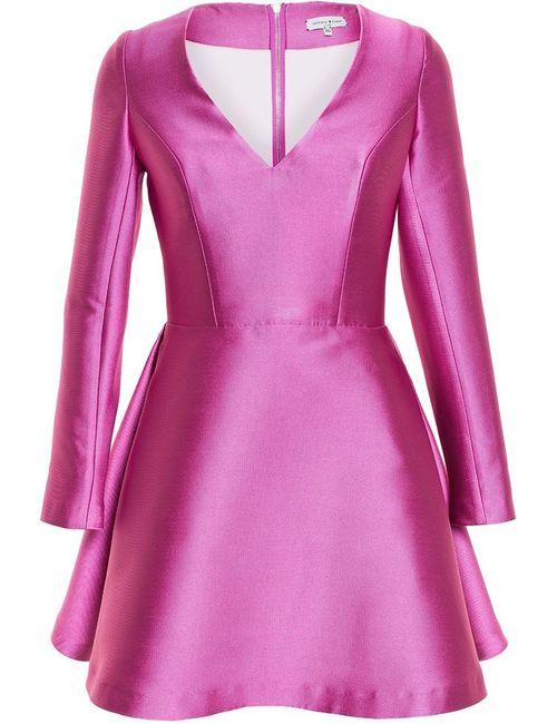 Natasha Zinko | Женское Розовый Side Pleat Mini Dress