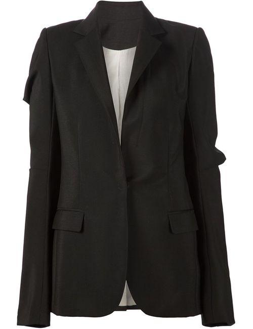 Vera Wang | Женское Черный Draped Sleeve Blazer