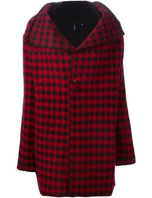Woolrich | Женское Красный Checked Draped Jacket
