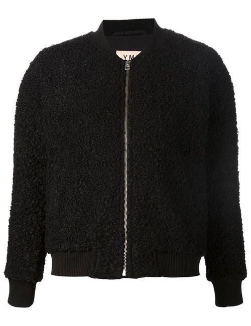 YMC | Женская Чёрная Куртка-Бомбер