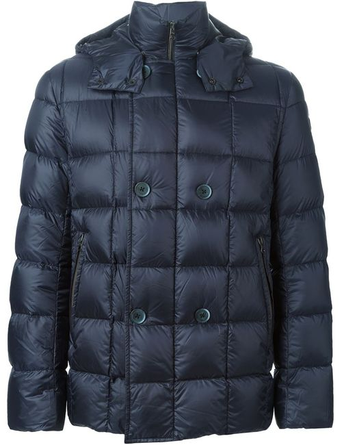 Fay | Мужская Синяя Дутая Куртка
