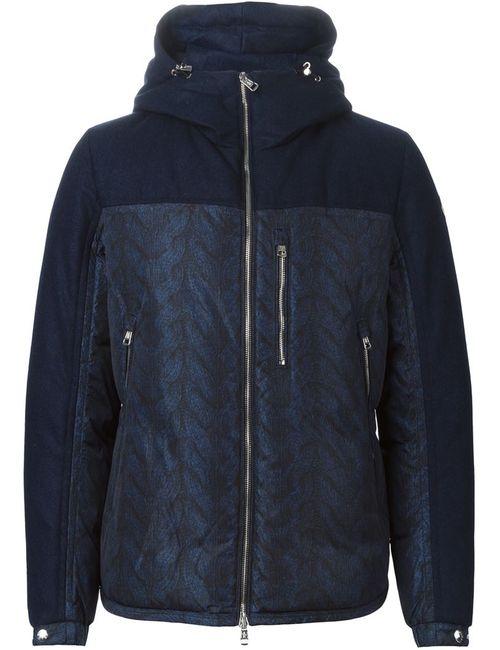 Moncler | Мужская Синяя Дутая Куртка Gary