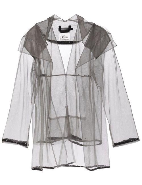 PHOEBE ENGLISH | Женская Серая Двухслойная Прозрачная Куртка