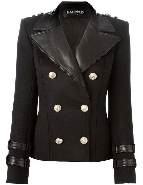 Balmain | Женское Чёрный Double Breasted Blazer