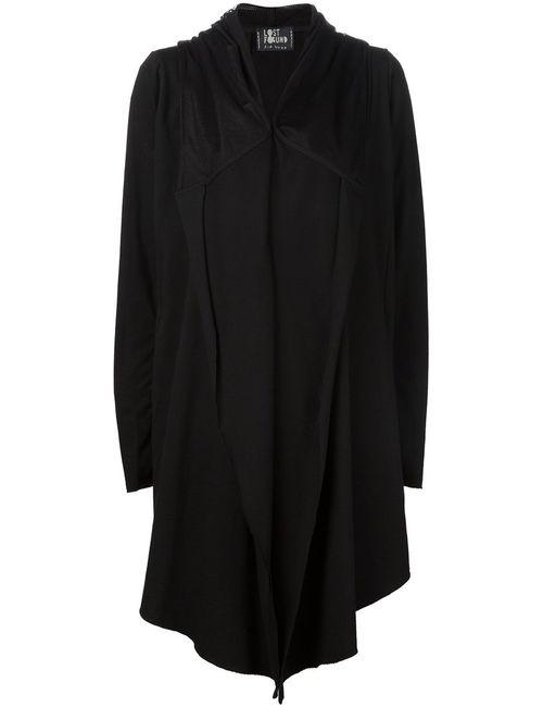 LOST AND FOUND | Женское Черный Loose Fit Hooded Jacket