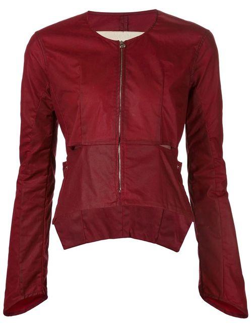 ECKHAUS LATTA | Женская Красная Укороченная Куртка С Покрытием