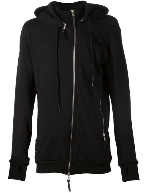 11 BY BORIS BIDJAN SABERI | Мужское Чёрный Hooded Zip Jacket