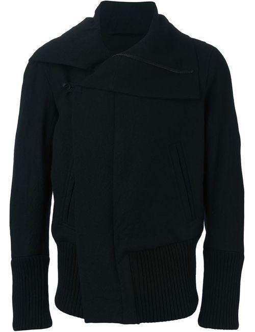 Ann Demeulemeester | Мужское Черный Off-Centre Fastening Jacket