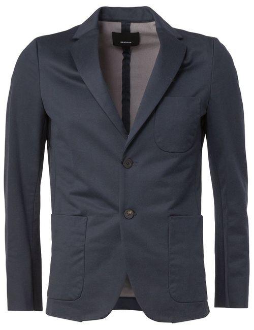08SIRCUS | Мужское Синий Patch Pocket Blazer