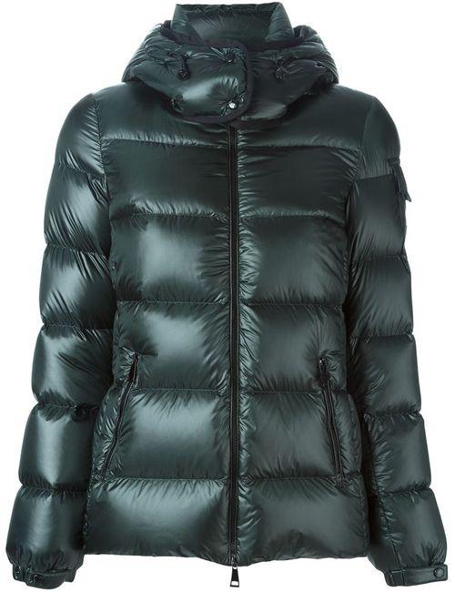 Moncler | Женское Зелёный Berre Hooded Padded Jacket