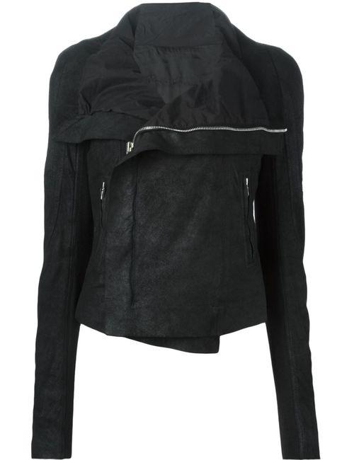 Rick Owens | Женская Чёрная Балкарская Куртка Ellei