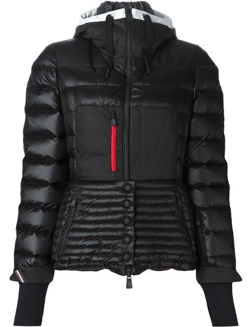 Moncler Grenoble | Женское Чёрный Hooded Fitted Padded Jacket