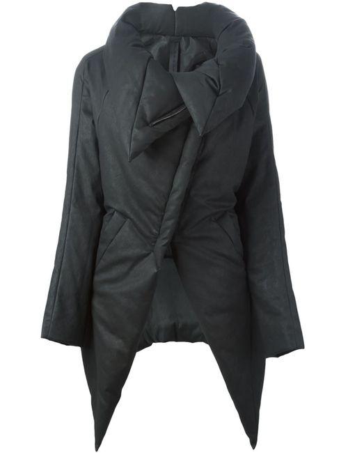 Gareth Pugh | Женская Серая Дутая Куртка С Объемным Воротником