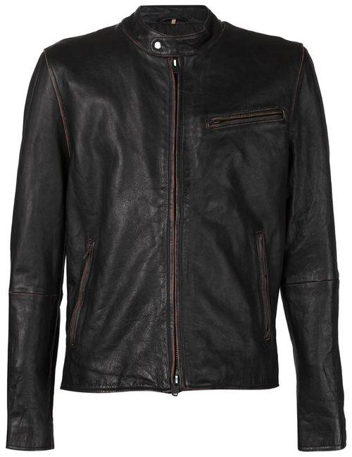 Levi'S®  Made & Crafted™ | Мужская Чёрная Куртка С Нагрудным Карманом