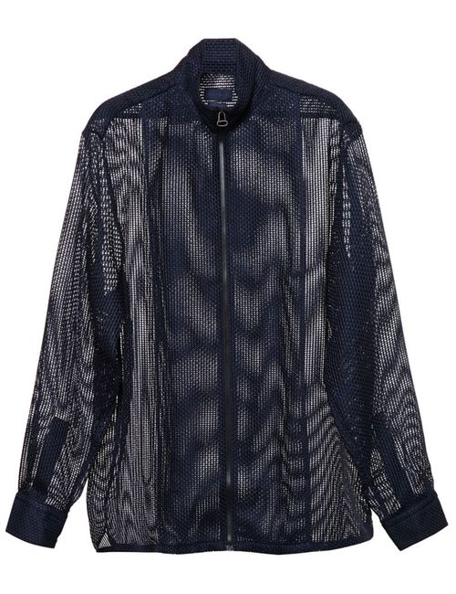 Lanvin | Мужское Синий Mesh Jacket