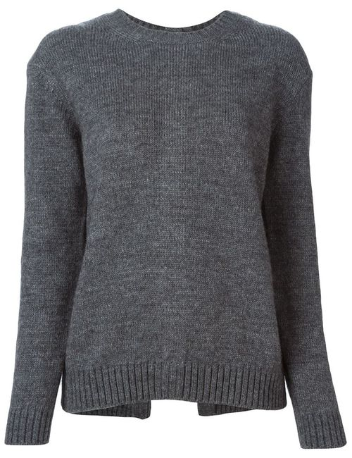 No21 | Женское Серый Back Buttoned Sweater
