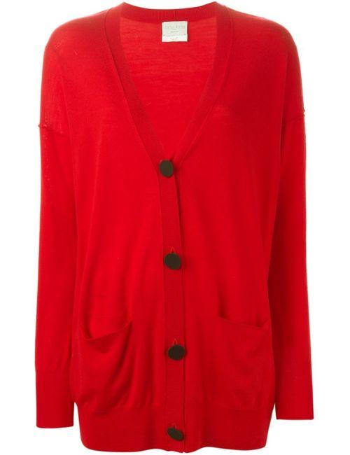 Forte Forte | Женское Красный Buttoned Long Cardigan