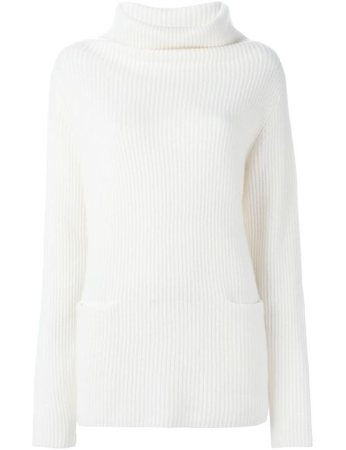 Vince | Женское Nude & Neutrals Ribbed Cowl Neck Sweater