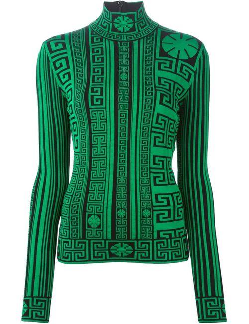Versace | Женское Черный Greek Turtle Neck Sweater
