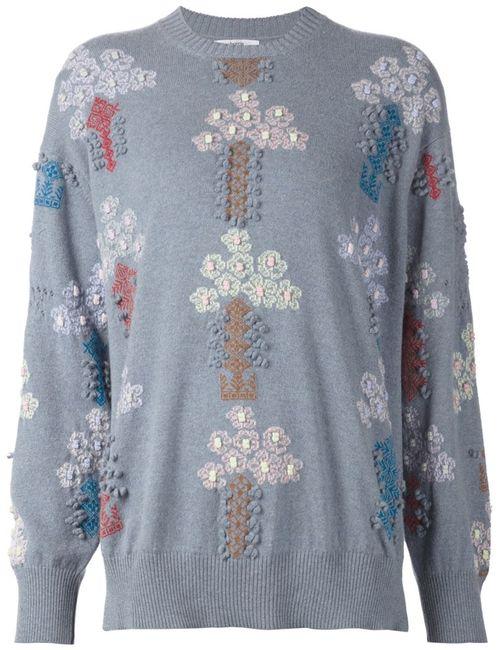 BARRIE | Женское Синий Candy Tree Sweater