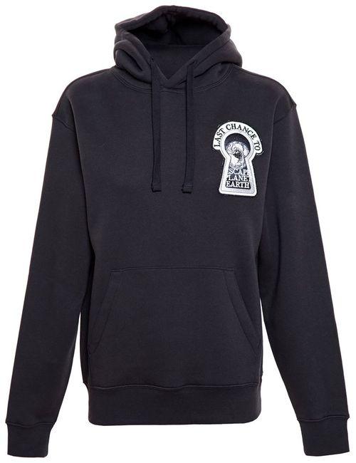 ASHLEY WILLIAMS | Женское Черный Printed Hooded Sweatshirt