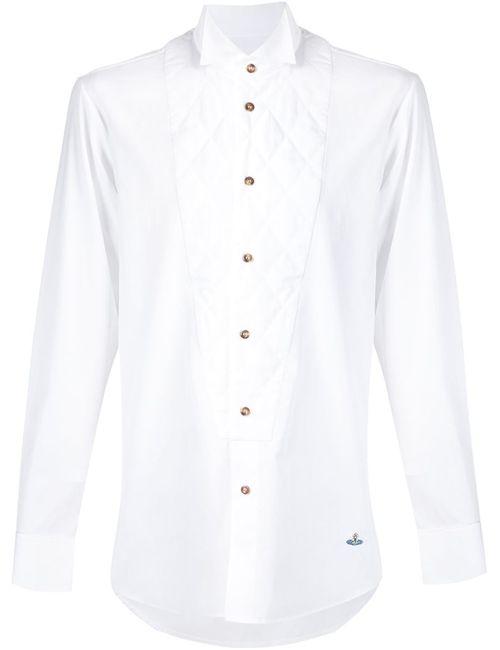 Vivienne Westwood | Мужское Белый Quilted Bib Shirt