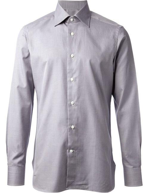 Ermenegildo Zegna | Мужское Синий Fine Check Shirt