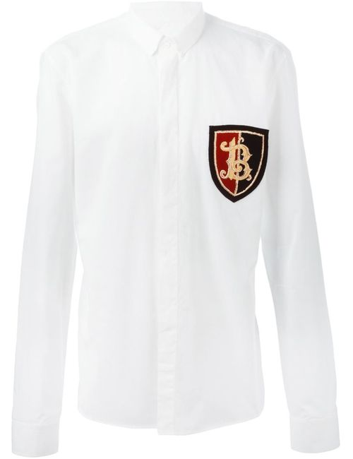 Balmain | Мужское Белый Insignia Shirt
