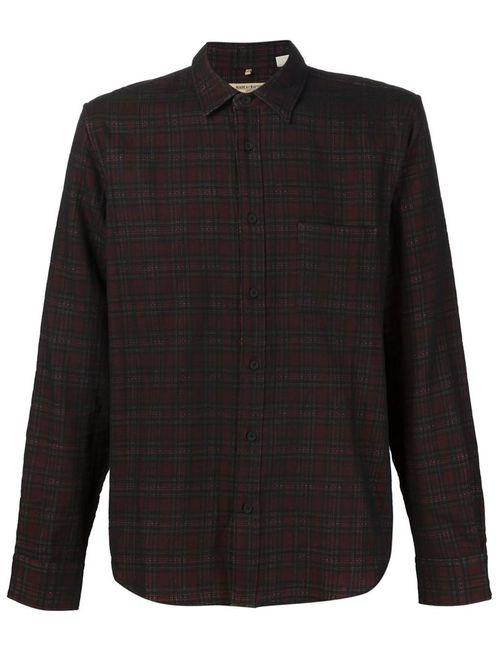 Levi'S®  Made & Crafted™   Мужская Черный Рубашка В Клетку