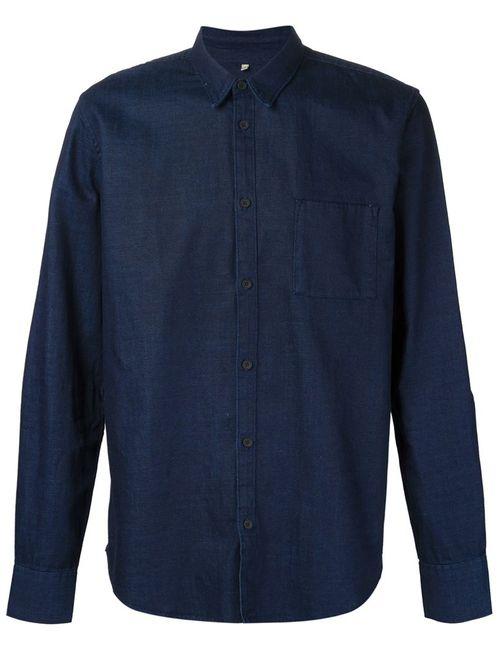 Levi'S®  Made & Crafted™ | Мужская Синяя Рубашка С Нагрудным Карманом