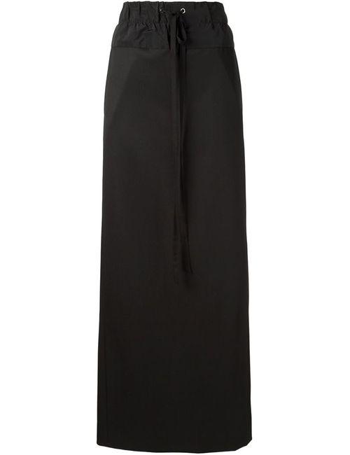 Vera Wang | Женское Черный Drawstring Maxi Skirt
