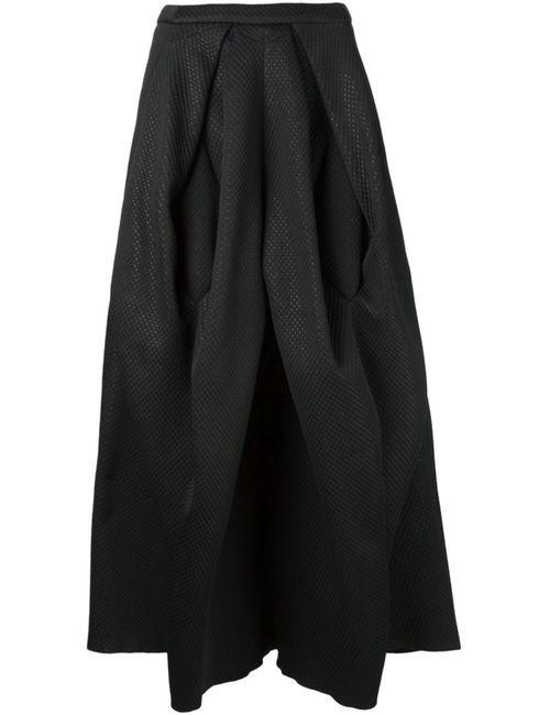 MICOL RAGNI | Женское Чёрный Structured Pleat Skirt
