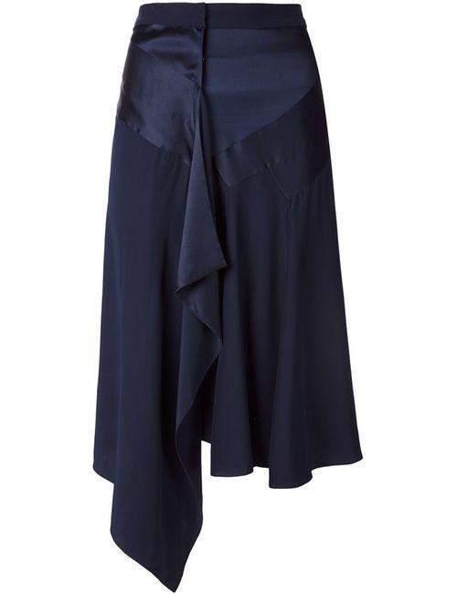 Barbara Bui | Женское Синий Draped Asymmetric Skirt