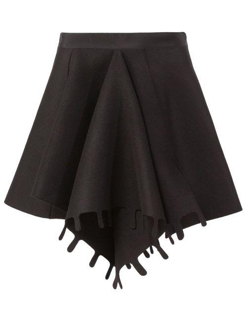Maison Rabih Kayrouz | Женское Чёрный Front Pleat Skirt