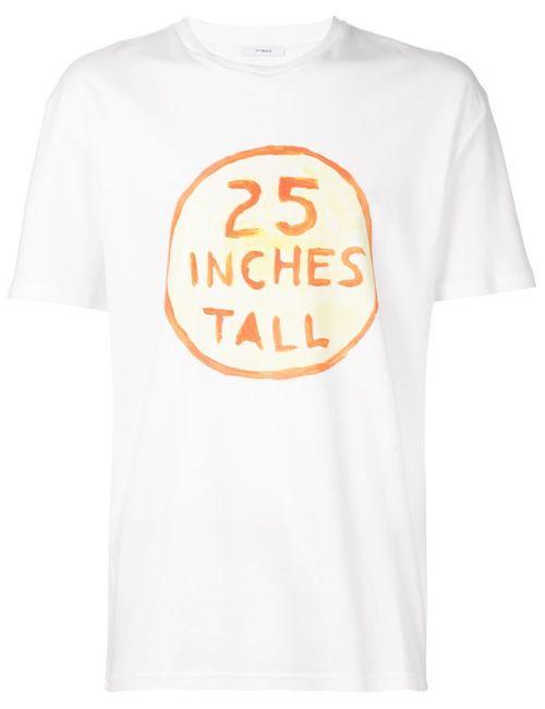 Kit Neale | Мужская Белая Футболка 25 Inches Tall