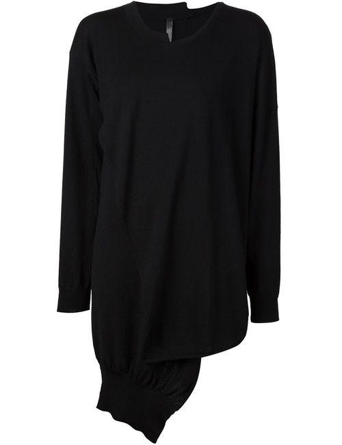 Barbara I Gongini | Женское Чёрный Crossover Oversized Sweater