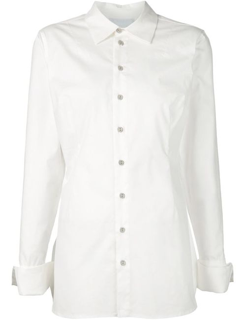 CHEREVICHKIOTVICHKI | Женская Белая Классическая Рубашка