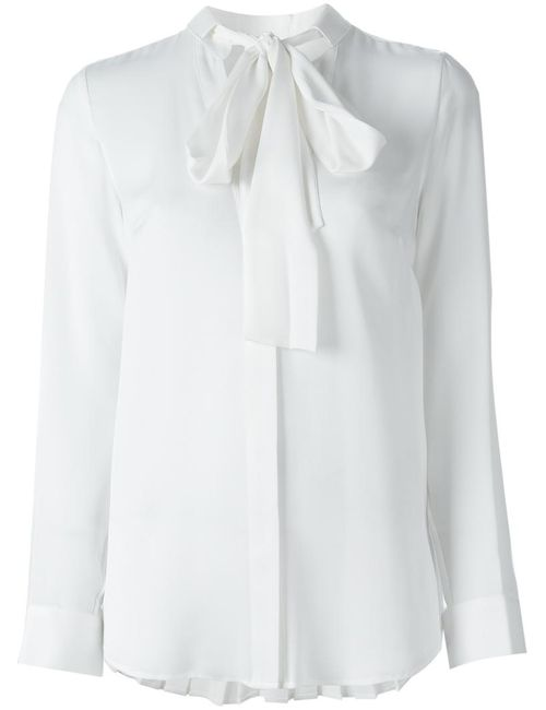 Michael Michael Kors | Женское Белый Pussy Bow Shirt