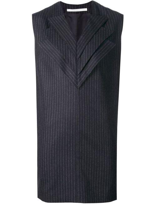 AUDRA | Женское Серый Pinstripe Sleeveless Long Top