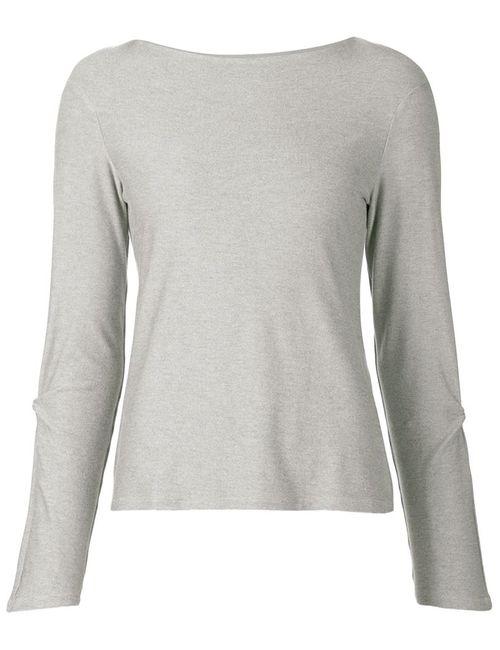AUDRA   Женское Серый Sleeve Twist Detail Top