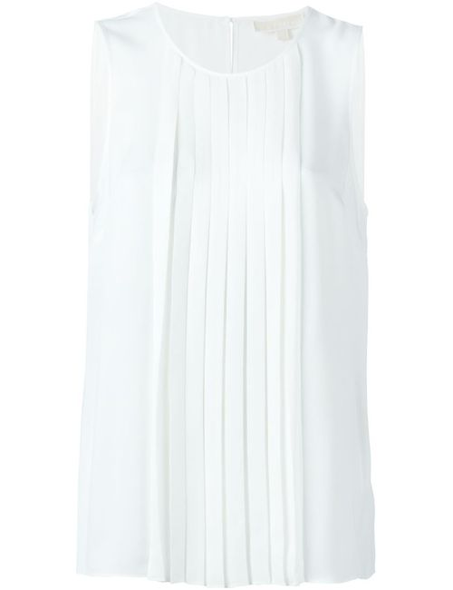 Michael Michael Kors | Женское Белый Pleated Front Top